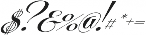 Centeria Script Fat Slanted ttf (800) Font OTHER CHARS