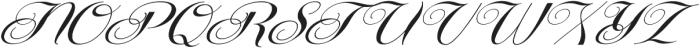 Centeria Script Fat Slanted ttf (800) Font UPPERCASE