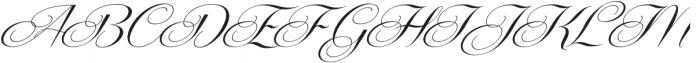 Centeria Script Medium Alt Slan Medium ttf (500) Font UPPERCASE