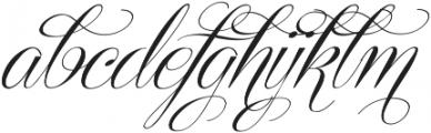 Centeria Script Medium Alt Slan Medium ttf (500) Font LOWERCASE