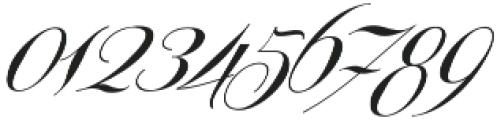 Centeria Script Medium Slanted otf (500) Font OTHER CHARS