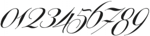 Centeria Script Medium Slanted ttf (500) Font OTHER CHARS