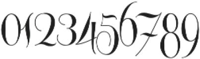 Centeria Script Medium ttf (500) Font OTHER CHARS