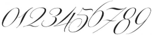Centeria Script Thin Alt Slante otf (100) Font OTHER CHARS
