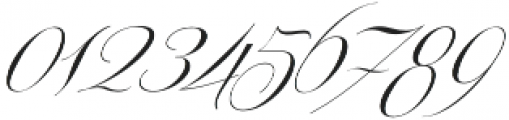Centeria Script Thin Slanted otf (100) Font OTHER CHARS