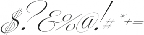 Centeria Script Thin Slanted ttf (100) Font OTHER CHARS
