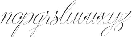 Centeria Script Thin Slanted ttf (100) Font LOWERCASE