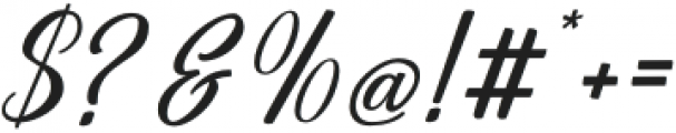 Centie Script otf (400) Font OTHER CHARS