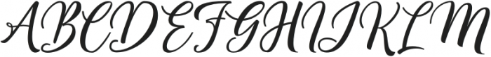 Centie Script otf (400) Font UPPERCASE