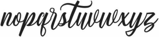 Centie Script otf (400) Font LOWERCASE