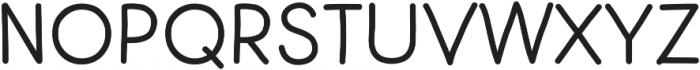 Centura Round ttf (700) Font UPPERCASE