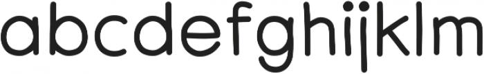Centura Round ttf (700) Font LOWERCASE