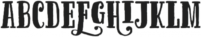 Cereal Caps otf (400) Font LOWERCASE