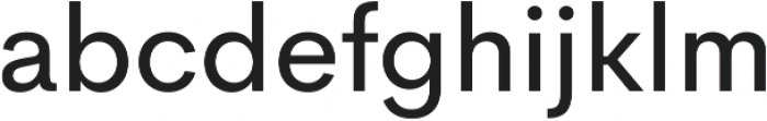 Cerebri Sans Book ttf (400) Font LOWERCASE