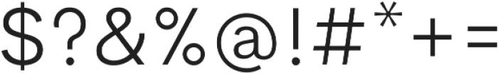 Cerebri Sans Light ttf (300) Font OTHER CHARS