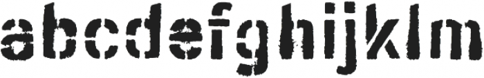 Ceroxa Regular otf (400) Font LOWERCASE