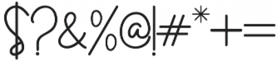 Certainly Style otf (400) Font OTHER CHARS