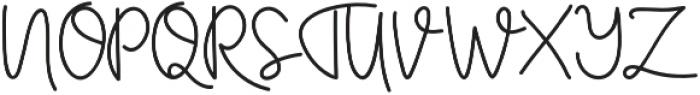Certainly Style otf (400) Font UPPERCASE