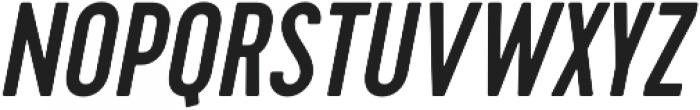 Cervo Medium Italic otf (500) Font UPPERCASE