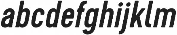 Cervo Medium Italic otf (500) Font LOWERCASE