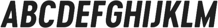 Cervo Neue Bold Neue Italic otf (700) Font UPPERCASE