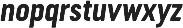 Cervo Neue Bold Neue Italic otf (700) Font LOWERCASE