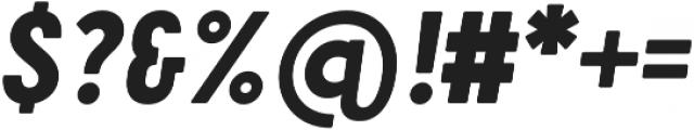 Cervo Neue ExtraBold Neue Italic otf (700) Font OTHER CHARS