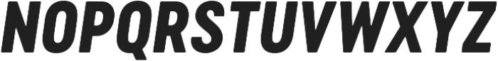 Cervo Neue ExtraBold Neue Italic otf (700) Font UPPERCASE