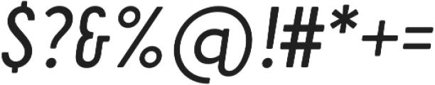 Cervo Neue Regular Neue Italic otf (400) Font OTHER CHARS