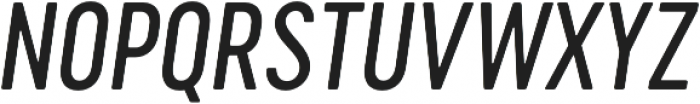 Cervo Neue Regular Neue Italic otf (400) Font UPPERCASE