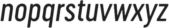 Cervo Neue Regular Neue Italic otf (400) Font LOWERCASE