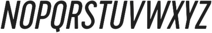 Cervo Regular Italic otf (400) Font UPPERCASE