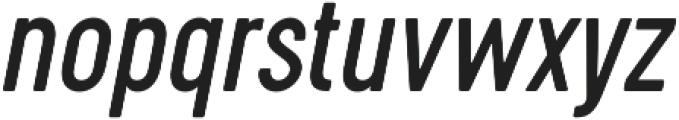Cervo Regular Italic otf (400) Font LOWERCASE