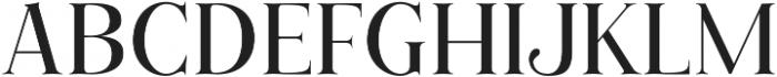 Cest Lavie Serif otf (400) Font UPPERCASE