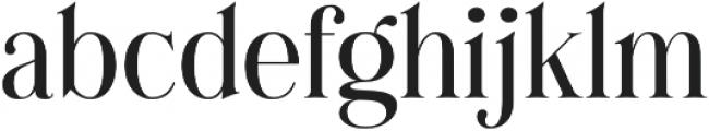 Cest Lavie Serif otf (400) Font LOWERCASE