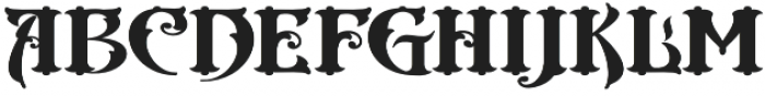 Cester Shire VMF otf (400) Font LOWERCASE