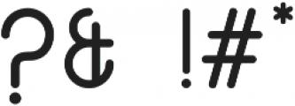 Cetta Sans Typefamily ttf (700) Font OTHER CHARS