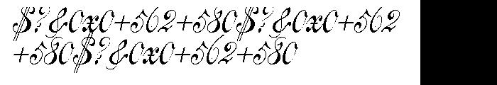 Centennial Script Pro Font OTHER CHARS