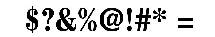 CenturyStd-BoldCondensed Font OTHER CHARS