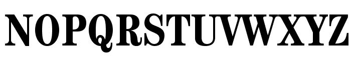 CenturyStd-BoldCondensed Font UPPERCASE