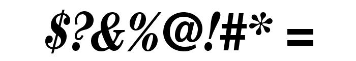 CenturyStd-BoldCondensedIt Font OTHER CHARS