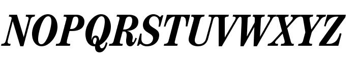 CenturyStd-BoldCondensedIt Font UPPERCASE