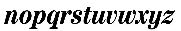 CenturyStd-BoldCondensedIt Font LOWERCASE