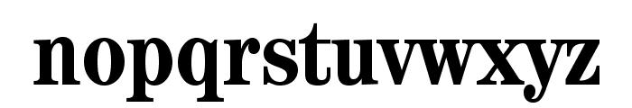 CenturyStd-BoldCondensed Font LOWERCASE