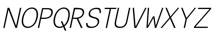 CeriseItalic Font UPPERCASE