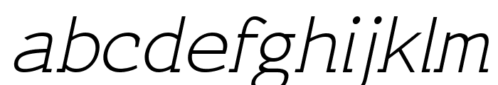 CeriseItalic Font LOWERCASE