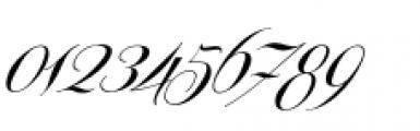 Centeria Script Medium Alt Slanted Font OTHER CHARS