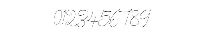 Cecilia Script Font OTHER CHARS