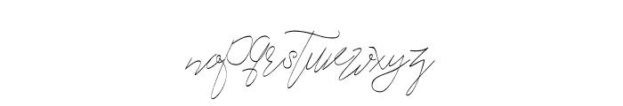 Cecilia Script Font LOWERCASE