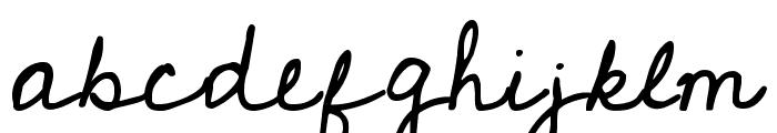Cedarville Pnkfun1 Cursive Font LOWERCASE